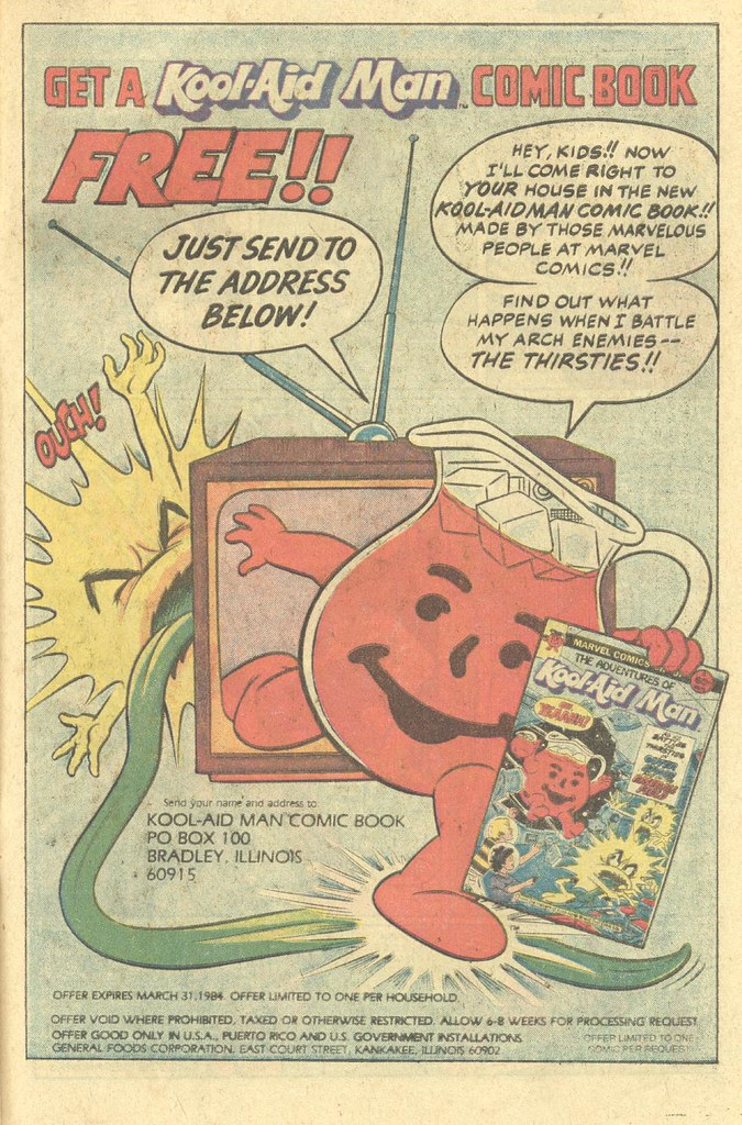 Adventures of Kool-Aid Man comics