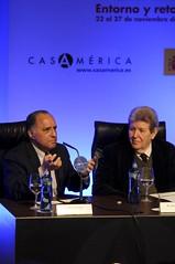 Will Corral y Jorge Herralde