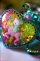 Kitty Carousel Chic Necklace (athinalabella1) Tags: pink paris cute glass yellow cake marie glitter hearts french costume spring yummy rainbow ribbons colorful neon yum candy heart princess sweet bears kitsch funky carousel jewelry mama pop pearls sugar ring lolita pony cupcake fantasy bakery bow kawaii valentines cameo glam antoinette ribbon chic bling sweethearts etsy dots lollipop gummi licorice drama unicorn suga tulle couture bows marieantoinette parisian gumballs whimsical frilly keroppi conversationhearts pedestal neovictorian shabby frou girlygirl cupcakesprinkles confettisprinkles athinalabella