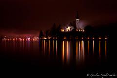 BLED CHURCH (Cipo the 3rd) Tags: lake church lago island holidays chiesa slovenia bled capodanno paesaggio vacanze isola