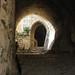 Corridor inside Krak des Chevaliers