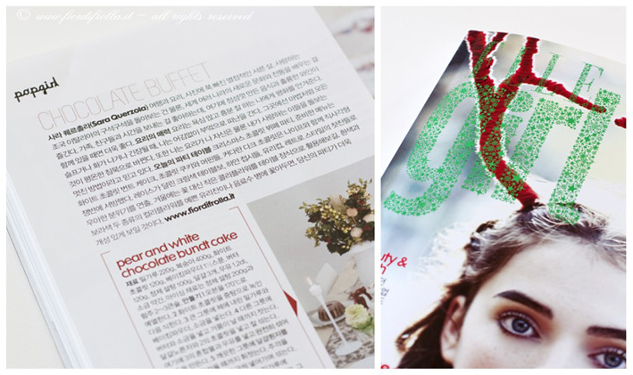 Fiordifrolla su Elle Girl Korea - December 2010