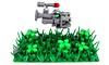 Armoured Hover Car - Scout (Karf Oohlu) Tags: lego frog moc frogspace legofrog froglaw hovervehicle