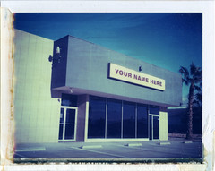 Palm Desert, CA (moominsean) Tags: california abandoned polaroid store closed 190 palmdesert yournamehere iduv expired122007