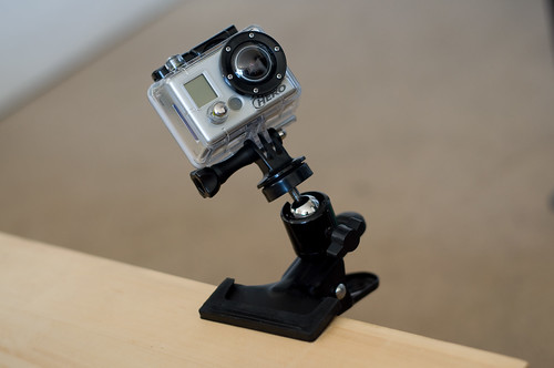 GoPro HD Hero on clamp mount