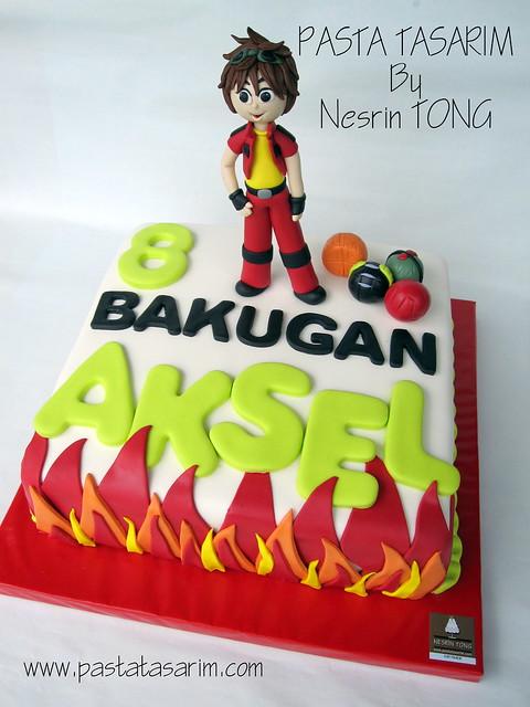 BAKUGAN CAKE - AKSEL BIRTHDAY