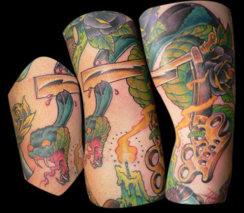 brass knuckle tattoos ~ High Quality Tattoo