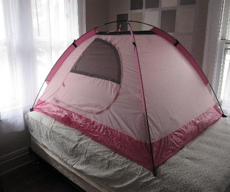 Tent on Bed