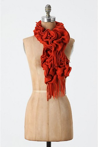 Wriggly Wrap in orange