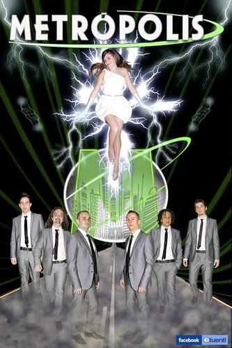 Metrópolis Band 2011 - grupo - cartel