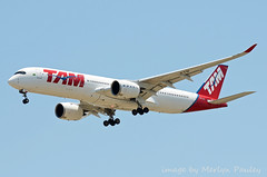 TAM A350 pr-xtb (merlyn.pauley) Tags: madrid madridbarajasairport airport spain tam a350 airbus prxtb