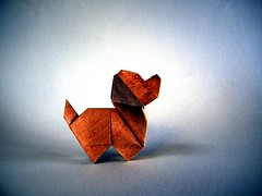 Puppy Dog - Edwin Corrie (Rui.Roda) Tags: origami papiroflexia papierfalten cachorro cão perro chien puppy dog edwin corrie