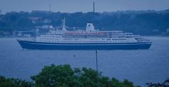 Cruise ship Marco Polo in Öresund (frankmh) Tags: ship cruiseship oceanliner marcopolo hittarp skåne sweden öresund denmark outdoor