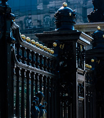 Gates (stephenbryan825) Tags: 3graces liverpool merseydocksharbouroffices black gates selects