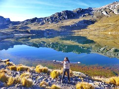 Laguna Pucacocha (pattyesqga) Tags: trekking travel trip mountains gopro female wanderlust backpacker travelblogger viajera mochilera nevado snow pucacocha rajuntay highlands nature perú southamerica naturaleza paisajes landscape adventure trekk hike hiking senderismo holidays weekend