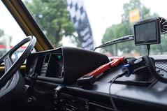 Onderweg naar Kijkduin - De cockpit