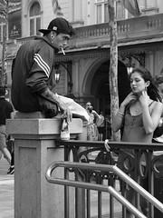IMG_1154_ (Stefano Palma) Tags: bn bnw blackandwhite biancoenero monochrome street strada people streetphotography barcellona barcelona spagna espana spain