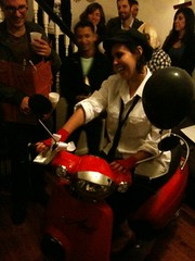 Davina & her new surprise birthday scooter!!!!
