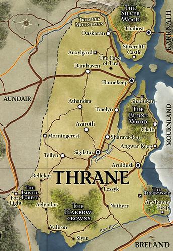 Map of Thrane