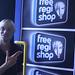 Opening Free Regi Shop
