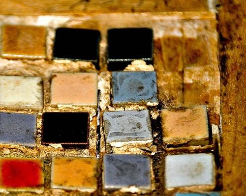 Old Mosaic close up