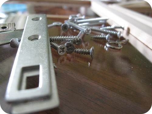 screws, nuts, bolts