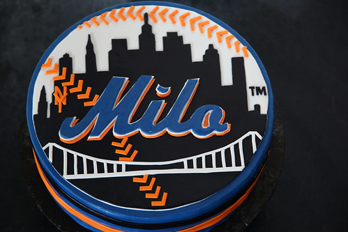 Milo's Mets cake