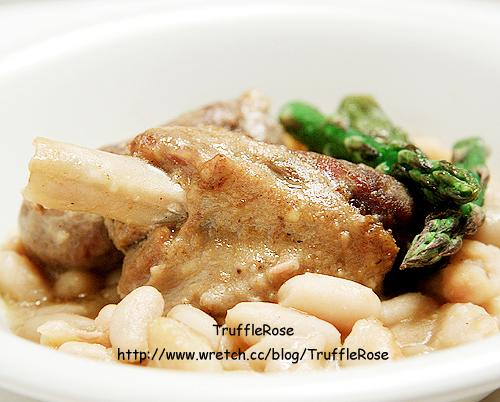 油封鵝燉白豆-France-100515