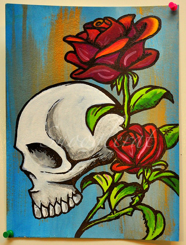Skulls and Roses Flickr Photo Sharing