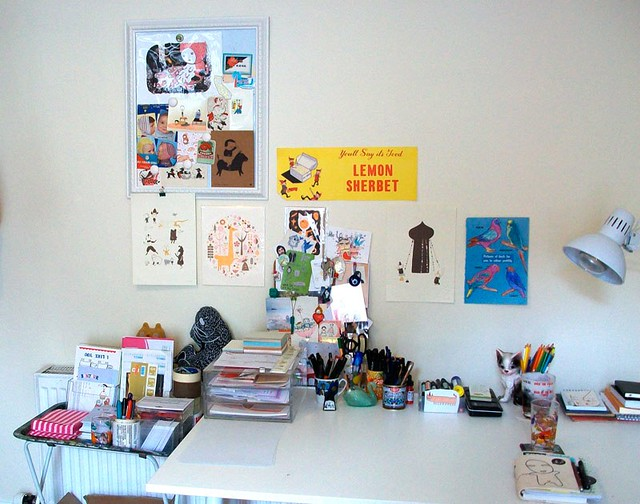 my studio : desk