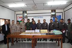 22 กุมภาพันธ์ 2553 เวลาประมาณ 01.15 น ได้ทำการตรวจยึดยาเสพติด (ยาบ้า) จำนวน 60 มัด (120,000เม็ด)