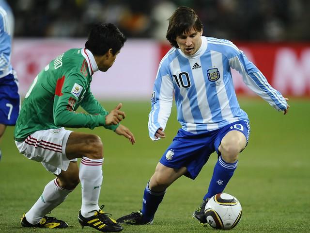 Thumb Octavos de Final: Argentina 3 México 1
