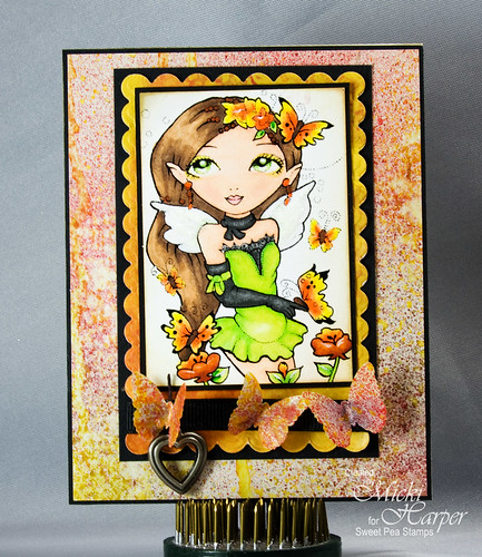Butterfly Fairy Plate 34