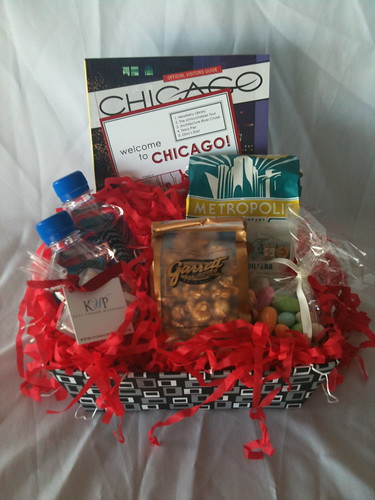 Kate Parker Weddings Chicago Welcome Basket