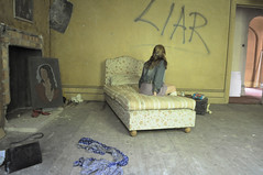 (Sofi Anne) Tags: house abandoned girl self manor liar