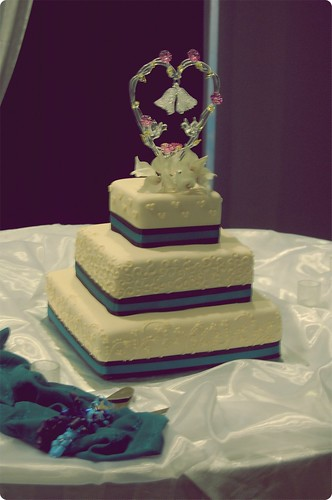 Friend's Wedding Cake