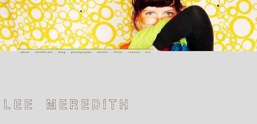 new leemeredith.com!