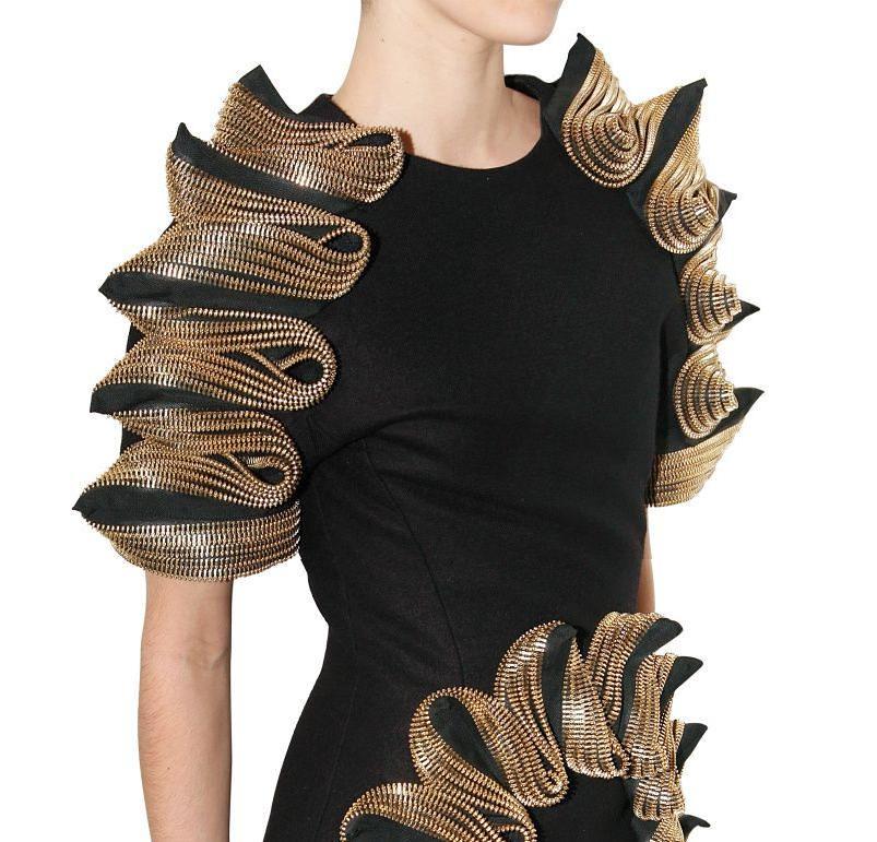 David Koma zipper dress at Luisaviaroma 2
