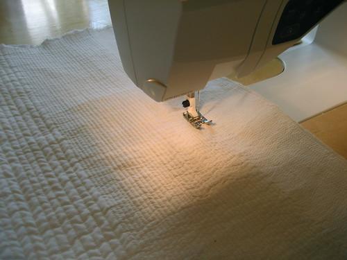 Art quilt process