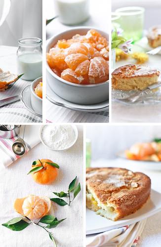 Tangerine ,  the cake