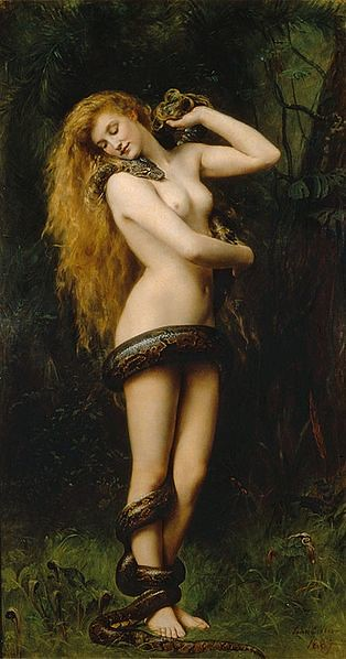 314px-Lilith_(John_Collier_painting)