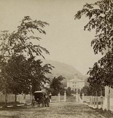 Gates to McGill University, McGill College Avenue, Montreal, QC, 1869 (Muse McCord Museum) Tags: canada mccordmuseum musemccord afternotman daprsnotman