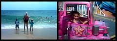 {Rhianna 365} day 321 - Pt Pleasant Beach (citygirlny10305) Tags: cameraphone ocean family cute beach water girl fun toddler child nj adorable naturallight rides bathingsuit dippy cs4 ptpleasant 365project