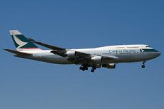 B-HKF - 25128 - Cathay Pacific Airways - Boeing 747-412 - 100617 - Heathrow - Steven Gray - IMG_5231