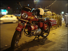 The Police Bike - Kolkata