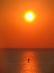 Sunset (heliosister) Tags: sunset sea sky sun holiday evening meer sonnenuntergang urlaub himmel ukraine rest sonne crimea blacksea segelschiff sailer           capefiolent
