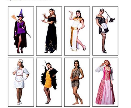 fantasias femininas para festas