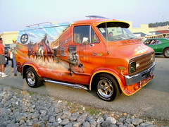 1976 Dodge Street Van (splattergraphics) Tags: mural dodge van 1976 cruisenight custompaint streetvan glenrockpa marketsatshrewsbury