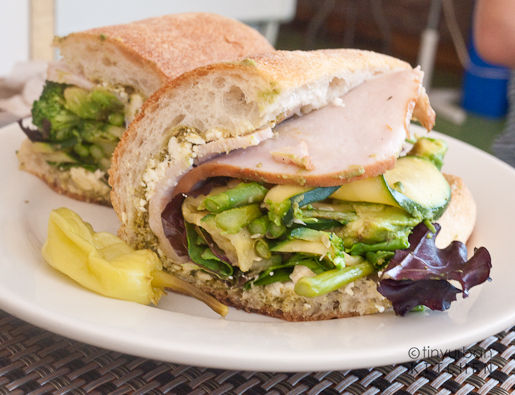 Canteen Turkey avocado sandwich