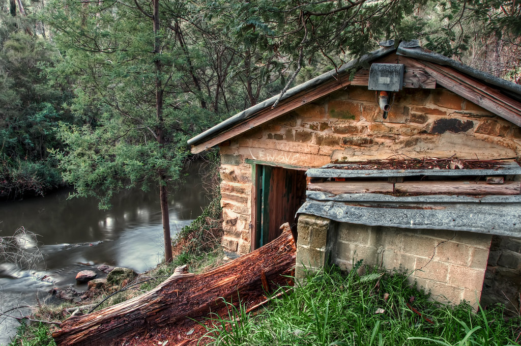 Abandoned Shack by the river